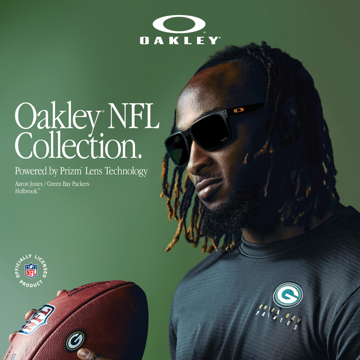 Packers Oakley Men S Holbrook Sunglasses