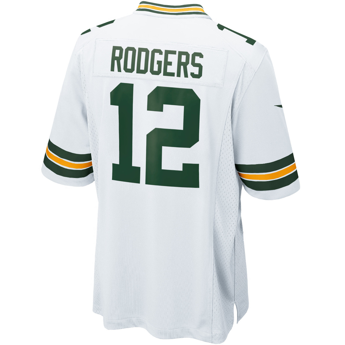 #12 Aaron Rodgers Away Game Jersey
