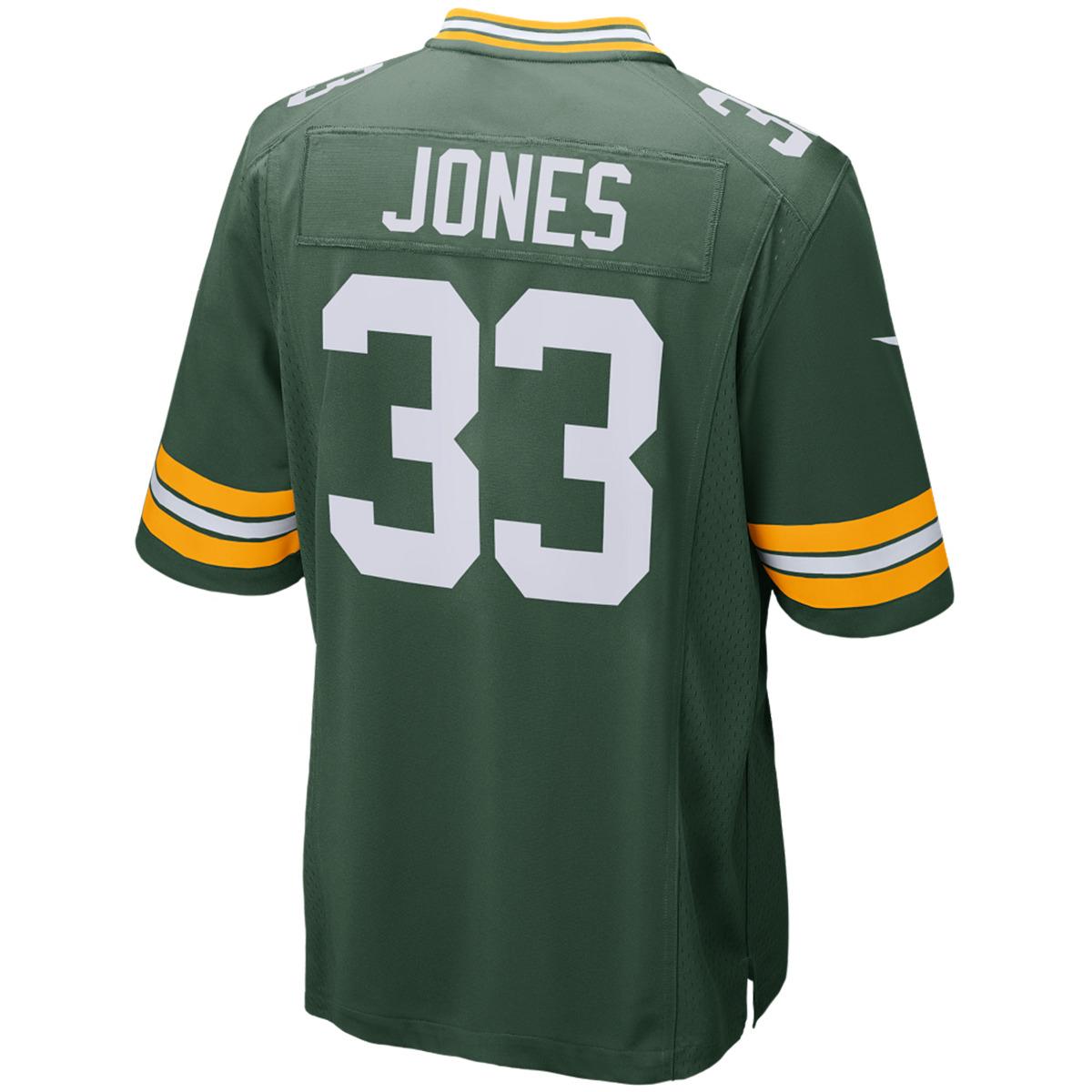 #33 Aaron Jones Home Game Jersey