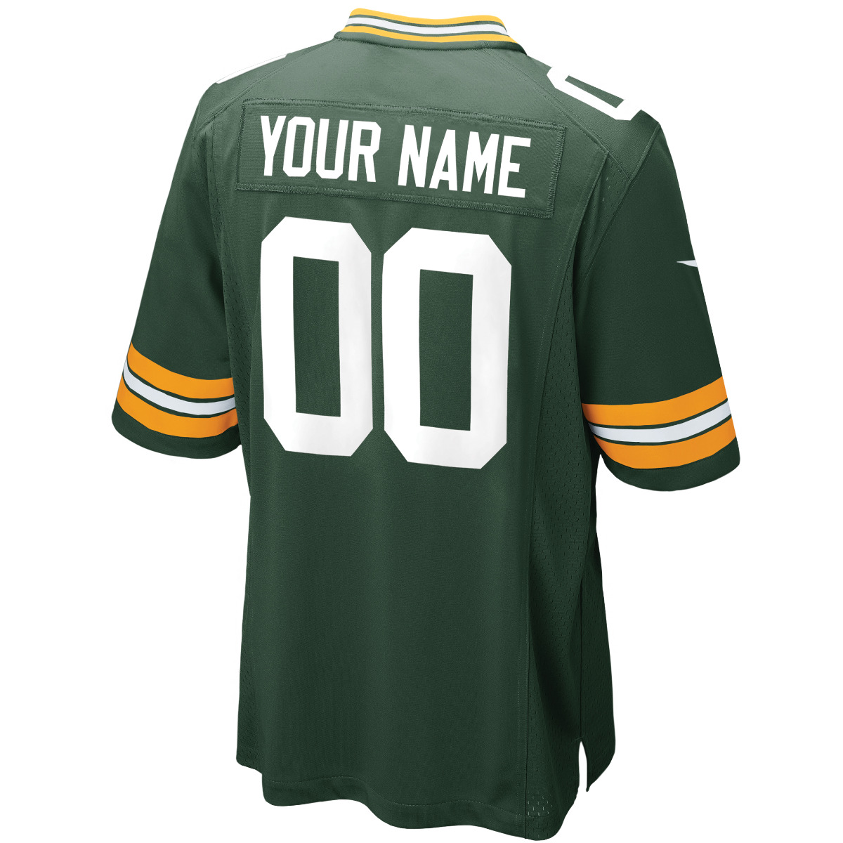 Packers Custom Home Game Jersey