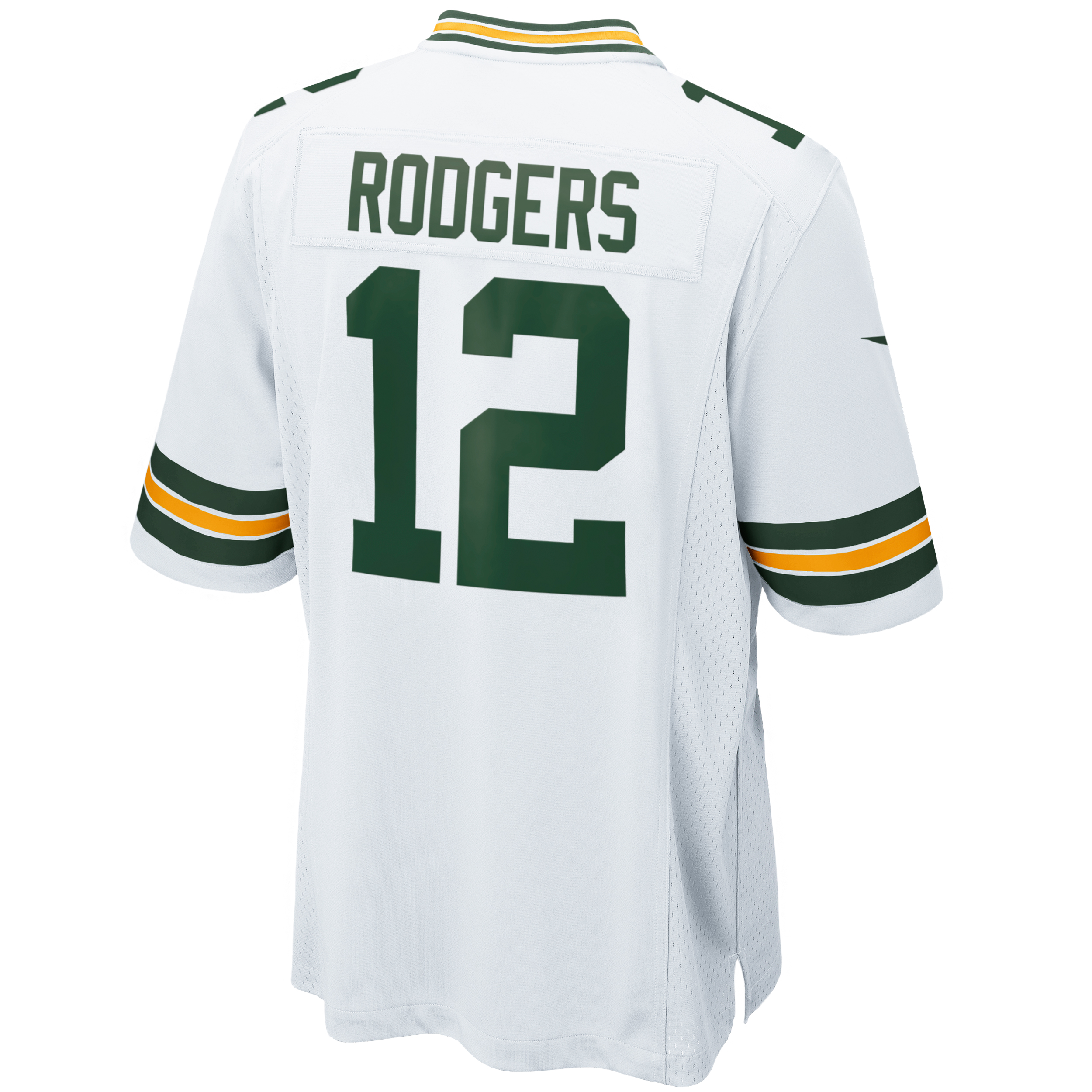 #12 Aaron Rodgers Youth Away Game Jersey