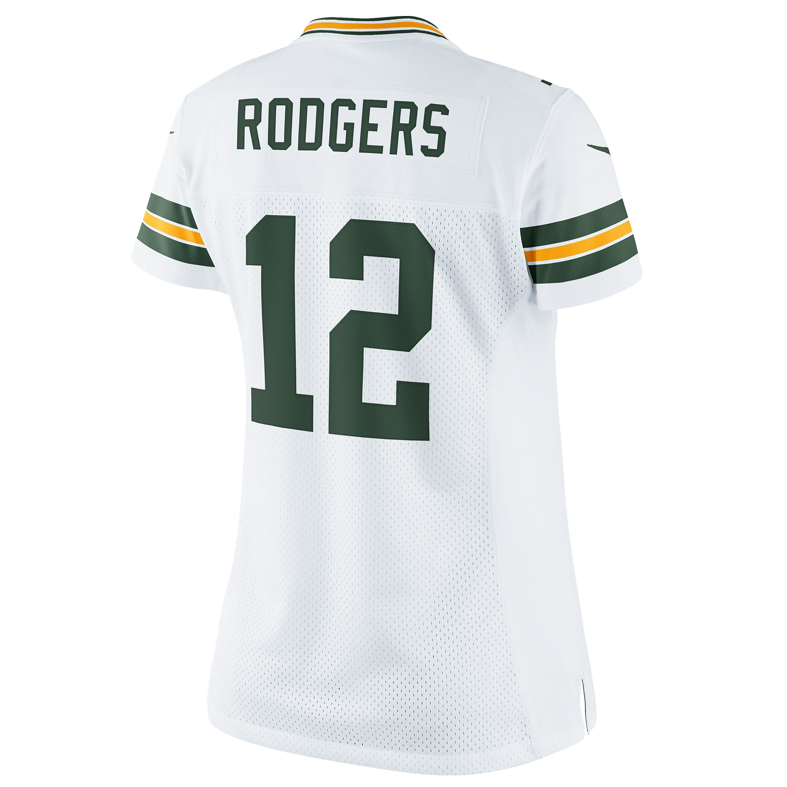 #12 Aaron Rodgers Away Women's Limited Jersey
