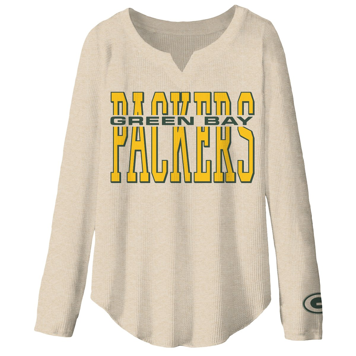 Aaron Rodgers Green Bay Packers Therma Long Sleeve Jersey