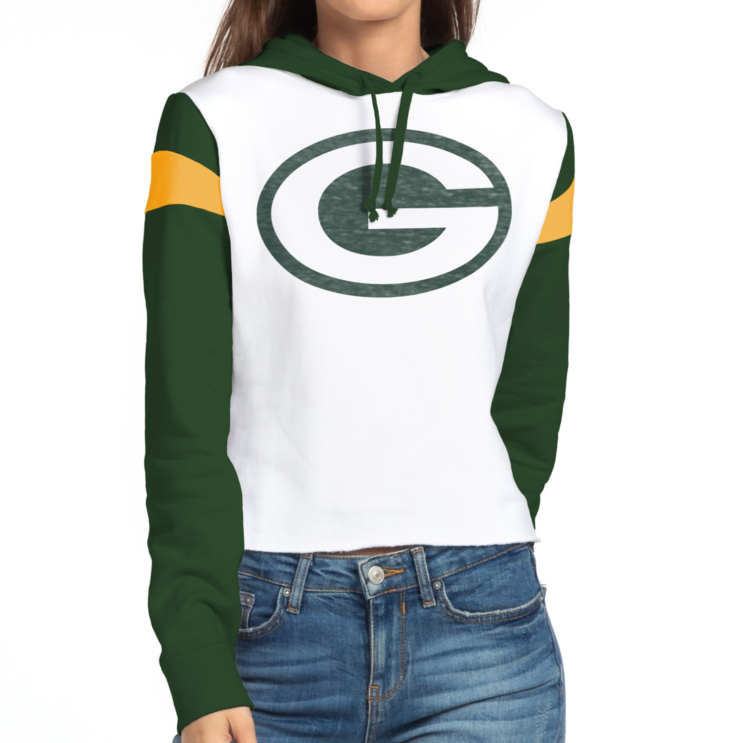 Green Bay Packers Women's Cropped