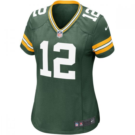#12 Aaron Rodgers Home Women's Game Jersey