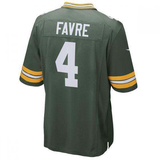 #4 Brett Favre Home Game Jersey