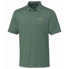 Packers Forge Pencil Stripe Polo