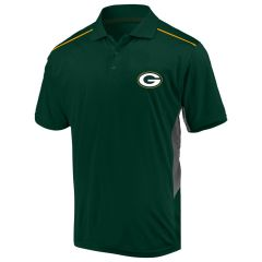 Packers Big & Tall Pieced Polo