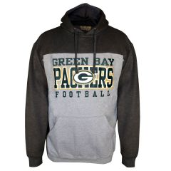 Packers Big & Tall Pieced Body PO Hoodie