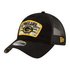Packers 2021 Salute to Service 9Twenty Trucker Cap
