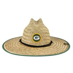 Packers Sideline Training Straw Hat