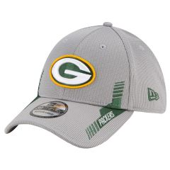 Packers 2021 Sideline Home Gray 39Thirty Cap