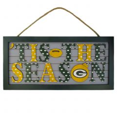 Packers 'Tis The Season Sign