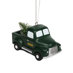 Packers Truck with Tree Ornament