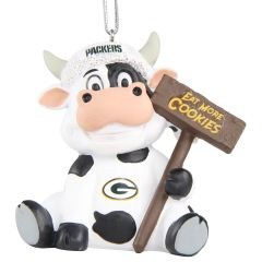 Packers Cookie Cow Ornament