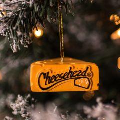 Packers Cheesehead Wedge Ornament