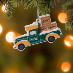 Packers Cheesehead® Truck Ornament
