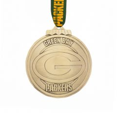 Packers Classic Round Bronze Ornament