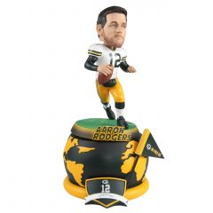 Packers #12 Rodgers Spinning Base Bobblehead