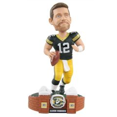 Packers #12 Rodgers Stadium Brick Bobblehead