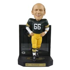 Packers #66 Nitschke Framed Showcase Bobblehead