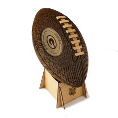 Packers Cardboard 3D Football