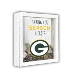 Packers Saving for Tickets Money Box