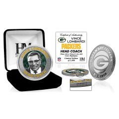Packers Lombardi Silver Mint Coin