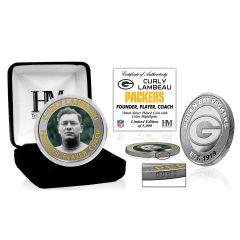 Packers Lambeau Silver Mint Coin