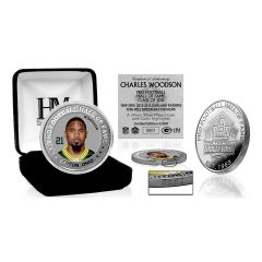 Packers Woodson Pro HOF 2021 Silver Color Coin