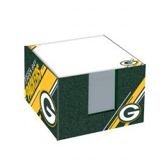 Packers Paper Note Cube