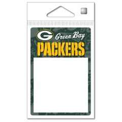 Packers Icons Magnetic Sticky Notepad