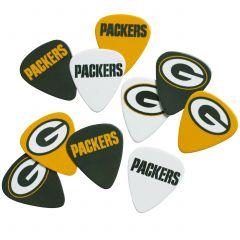 Green Bay Packers 10-Pack Guitar Picks