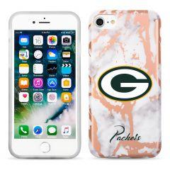 Packers Marble Rose Gold iPhone 6/7/8 Case