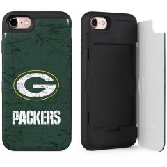 Packers iPhone 7 Distressed Wallet Phone Case