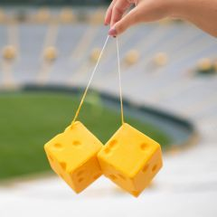 Packers Cheesehead® Hanging Dice
