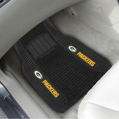 Green Bay Packers 2-Pack Deluxe Car Mats