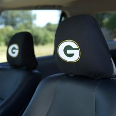 Packers Headrest Cover Set