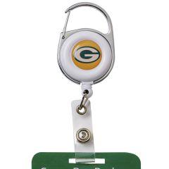 Green Bay Packers Deluxe Clip Badge Reel