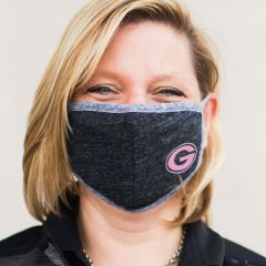 Packers Black & Pink Face Cover