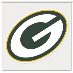 Green Bay Packers G Logo 4 Inch Color Decal