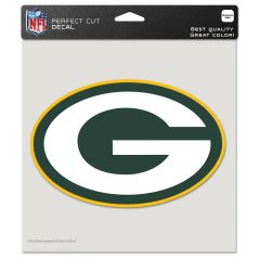 Packers G Logo 8 Inch Color Decal