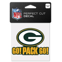 Packers Go! Pack Go! Decal