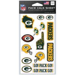 Packers Face-Cal Sheet