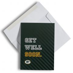 Green Bay Packers Get Well Soon Greeting Card