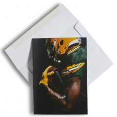 Green Bay Packers Player Greeting Card