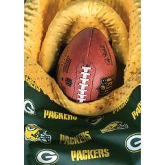 Green Bay Packers Football Baby Greeting Card