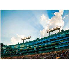 Packers Lambeau Sky Greeting Card
