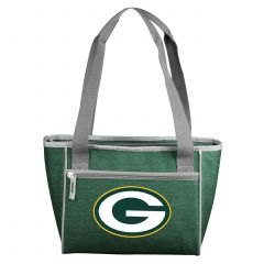 Packers Crosshatch 16-Can Cooler Tote