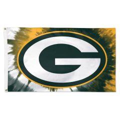 Packers Tie-Dye Deluxe Flag